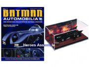 DC Batman Automobilia Collection #01 1989 Batman Movie Batmobile Eaglemoss